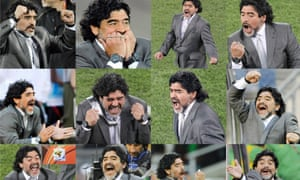 Maradona, 2010 World Cup.