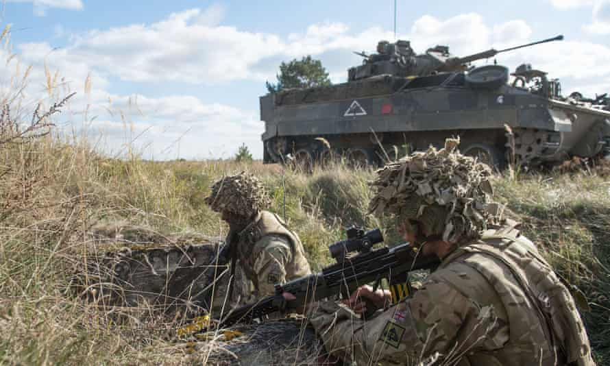 The French officer will be one of two deputy divisional commanders, the appointment made in accordance with a 2010 treaty between the UK and France.
