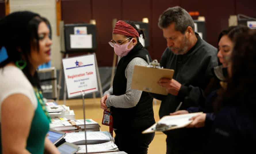 The Covid-19 pandemic has made it nearly impossible to conduct voter registration drives, and extremely difficult to register to vote.