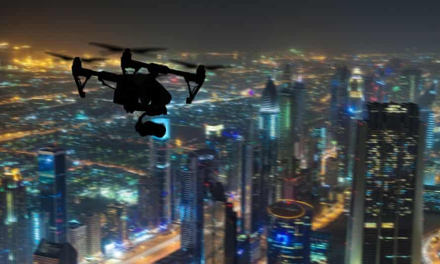 Eye in the (Dubai) sky: surveillance technology makes guarding the elites cheaper than ever.