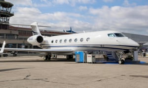 A Gulfstream G650ER like the one owned by the Amazon CEO.