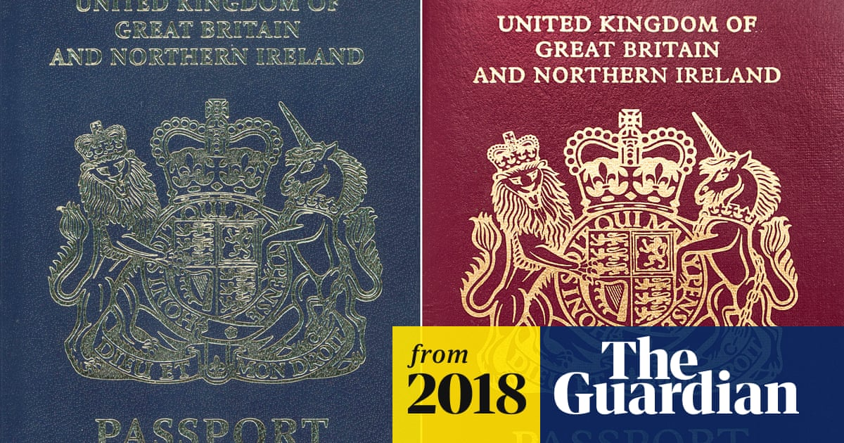 New Blue Uk Passports Will Be 120m Cheaper If Made In Europe