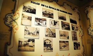 Photos on the wall at Casa Museo Gabriel Miró, Polop