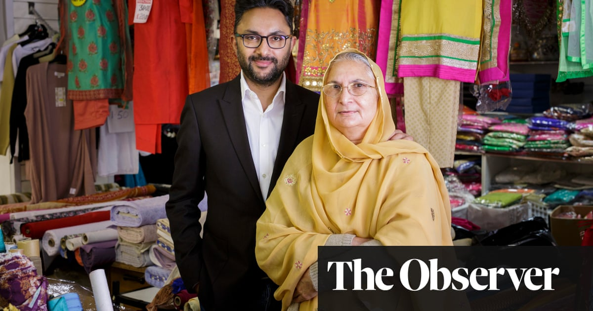 Sathnam Sanghera on The Boy with the Topknot: 'Mum cried