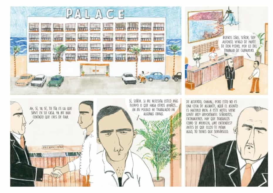 An excerpt from Todo Bajo el Sol, by Ana Penyas