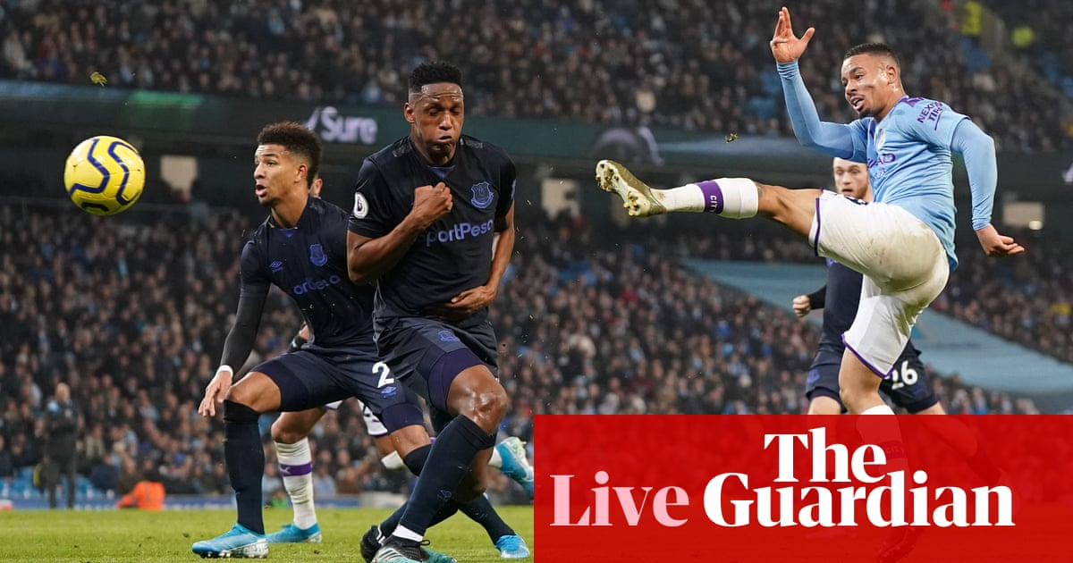 Manchester City v Everton: Premier League – live!