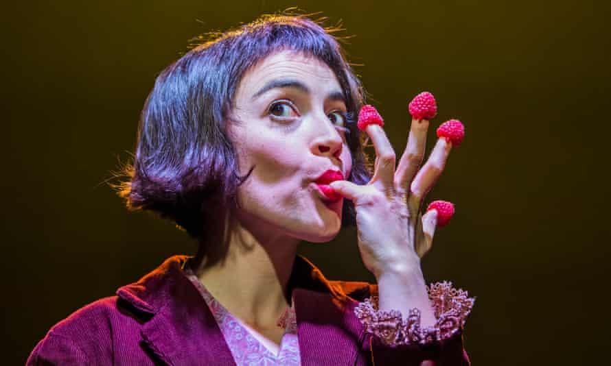 Stupendouly imaginative ... Audrey Brisson in Amélie.
