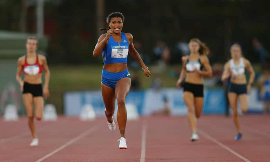The Australian 400m and 800m Olympic runner Morgan Mitchell