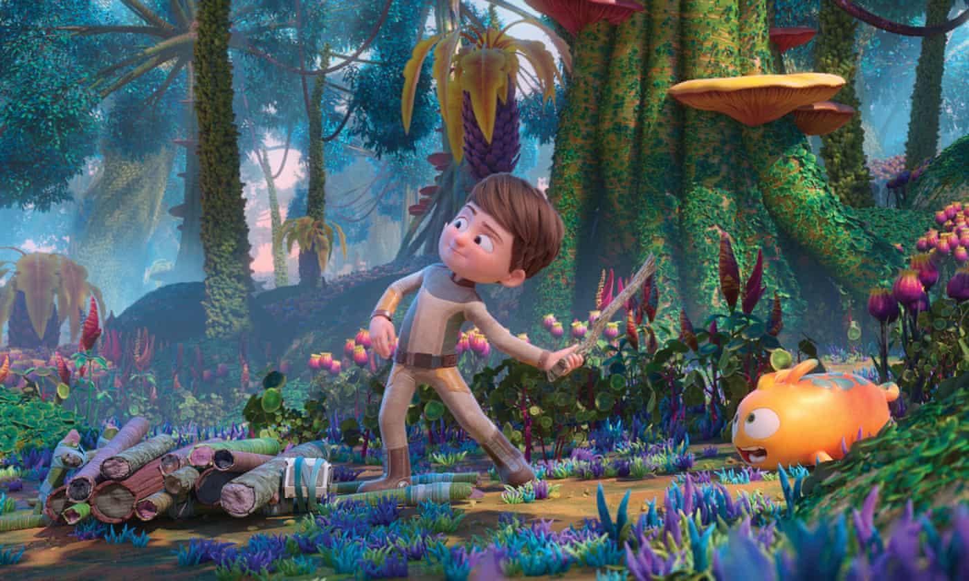 Astro Kid review – little boy lost on a planet far far away
