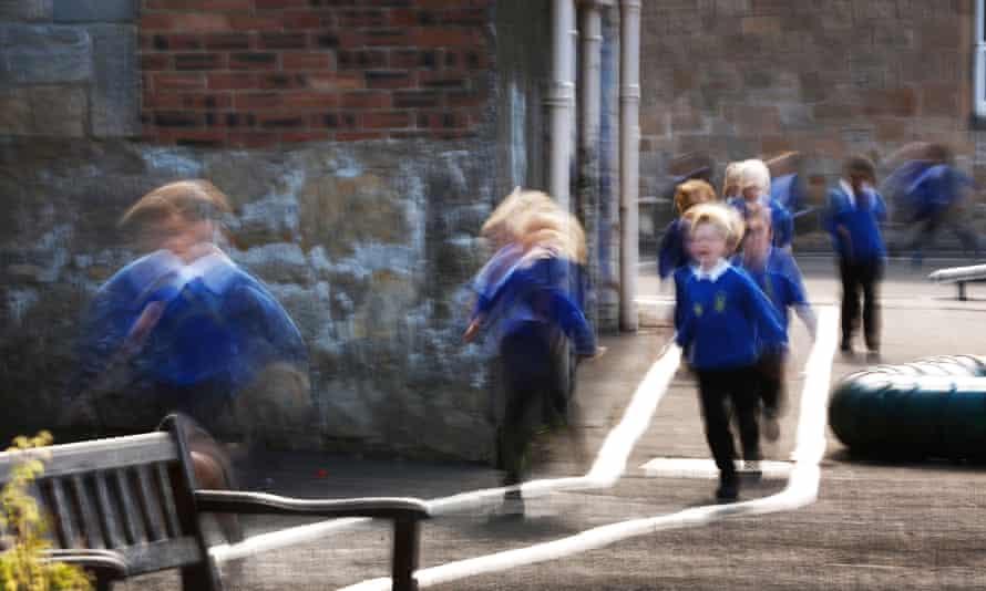 St Ninians pupils, Stirling