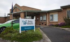 Estia Health Aged Care Facility.