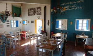 'Relaxed and airy' … Sitio da Pedralva restaurant.