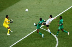 Mo Salah did score against Saudi Arabia but injury meant he couldn't impose himself on the tourament.