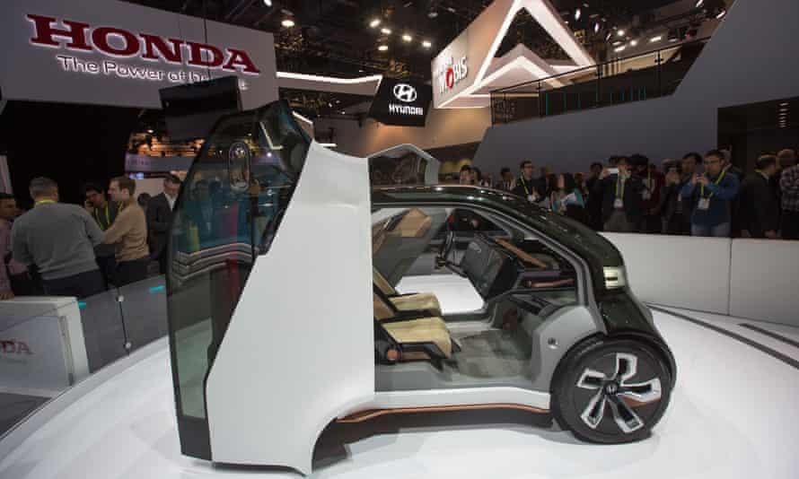 The Honda NeuV concept vehicle