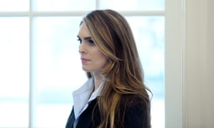 Hope Hicks at the White House.