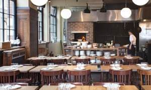 'Less cooking than assemblage': the dining room at Brat.