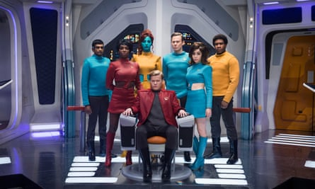 A genre all of its own … Black Mirror.