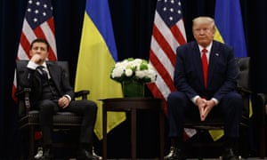 A phone call between Donald Trump and Volodymyr Zelenskiy in July triggered a political crisis in Washington.
