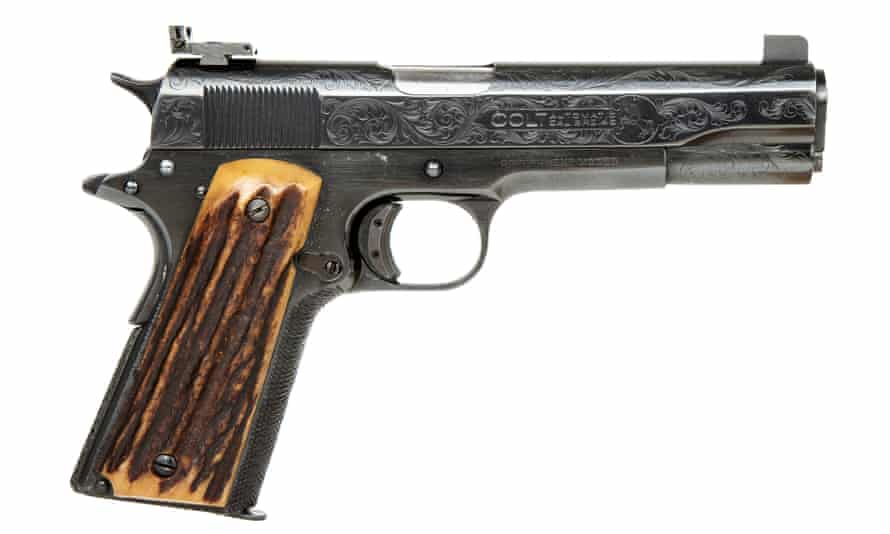 Capone's pistol, which has a $50,000 starting price.