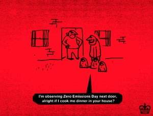 Modern Toss zero emissions