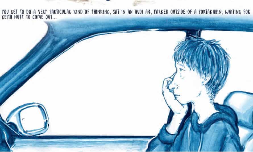 Detail from Joff Winterhart's 'marvellous' Driving Short Distances