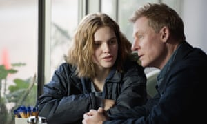 Odessa Young and Richard Roxburgh in Looking for Grace