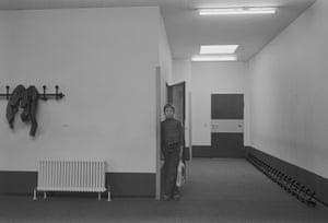 Fourth-grade pupil, elementary school. Berlin-Wedding, 1976-78