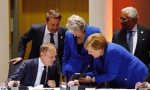 European council Brexit summit, Brussels