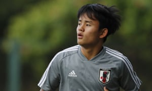 Japan's Takefusa Kubo is one of the hottest properties in world football.