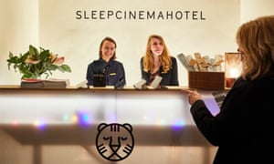Enjoy your trip … check-in at the Sleepcinemahotel.