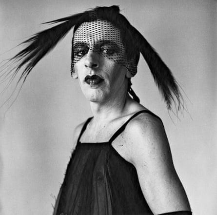 John Heys in Lana Turner's Gown (I) 1979