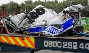 Eight people killed in M1 motorway crash | UK news | The Guardian