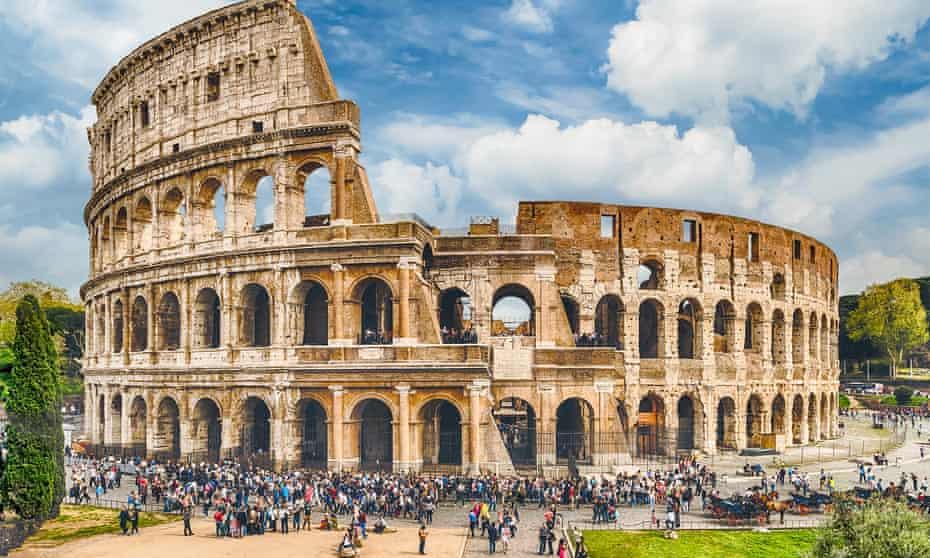 Memories of killing in the Colosseum in Rome.