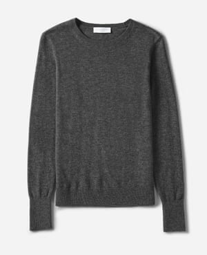 Charcoal jumper, £78, from Everlane
