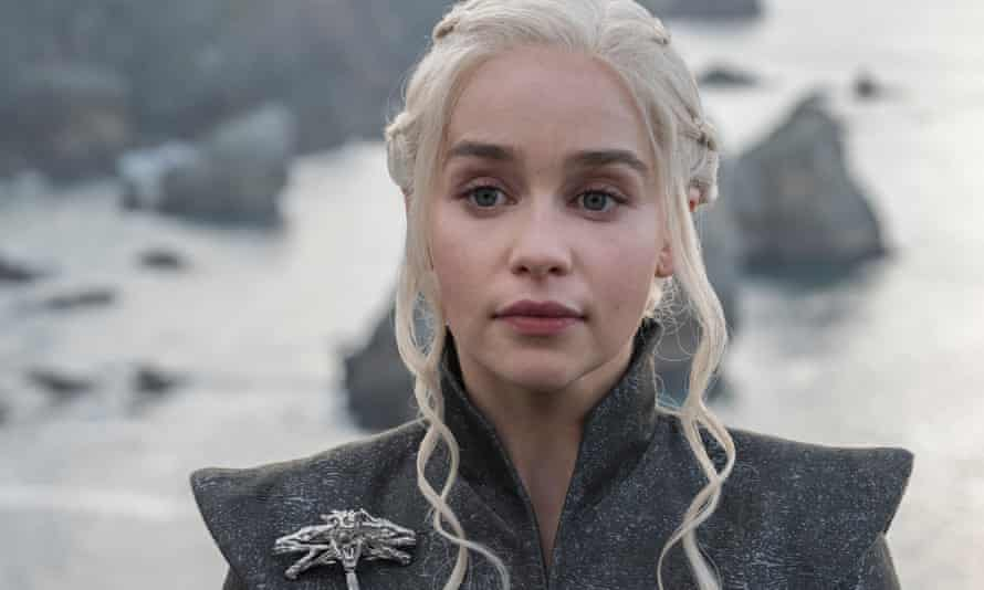 Game of Thrones: Emilia Clarke as Daenerys Targaryen
