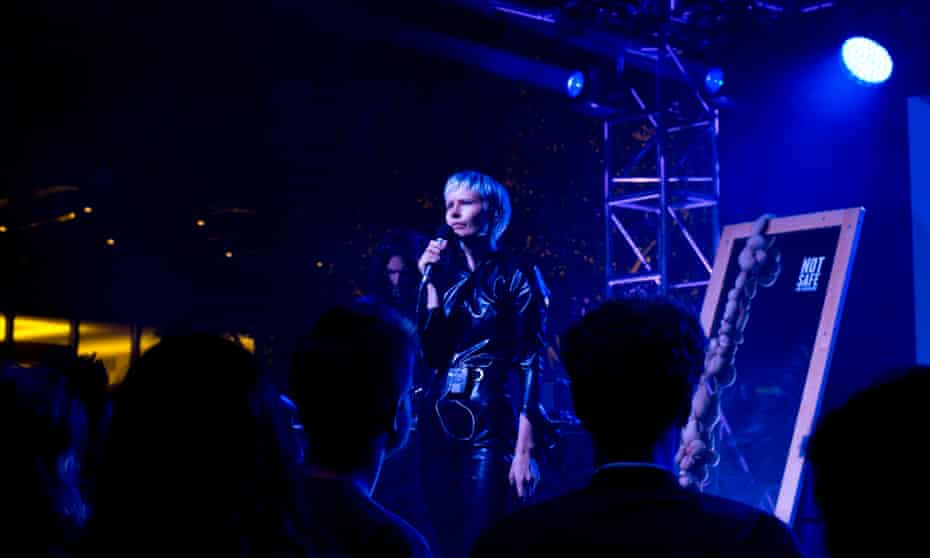 Jenny Hval at the Broad