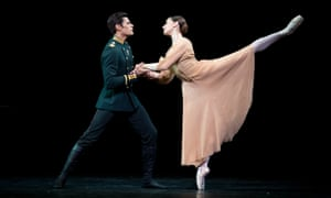 True desire … Thiago Soares and Marianela Nuñez in Winter Dreams.