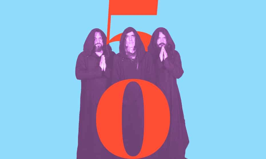 Sunn O))): 'like Black Sabbath got stuck in an almost-stationary lava field'.