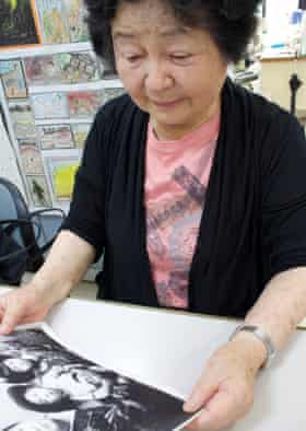 'As a survivor of Hiroshima, I had been involved in anti-nuclear campaigns in Japan' ... Hiroko Hatakeyama.