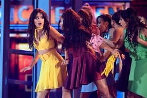 US-Cuban singer-songwriter Camila Cabello