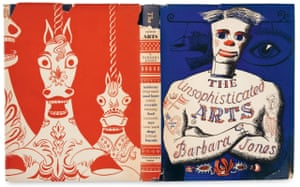 The cover of the book The Unsophisticated Arts by Barbara Jones.