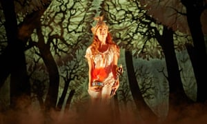 Rosalie Craig as Althea in The Light Princess