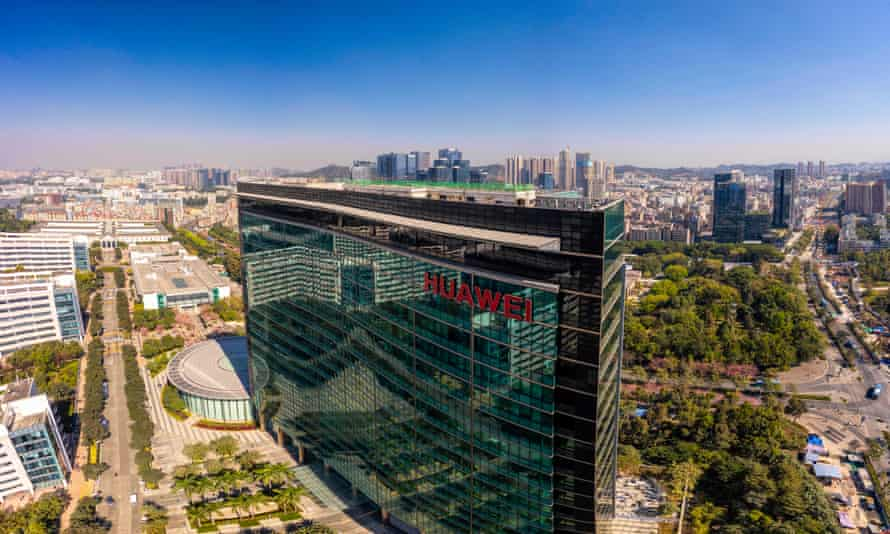 Huawei's headquarters in Shenzhen, Guangdong province