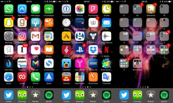 Life Hack How To Best Arrange Your Iphone Apps One Icon At A Time Apps The Guardian