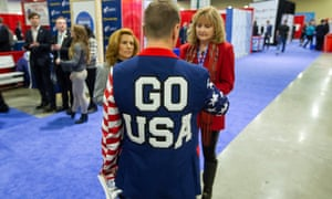Attendees gather at the 46th annual Conservative Political Action Conference (CPAC).