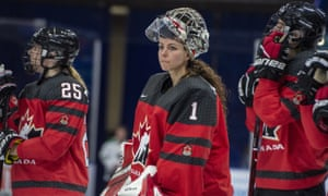 Canadian goaltender Shannon Szabados is one of the central figures in the boycott