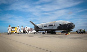 Captain Christopher Hoyler, an air force spokesman, said that the vehicle's mission 'cannot be specified' but that it will enhance 'the development of the concept of operations for reusable space vehicles.'