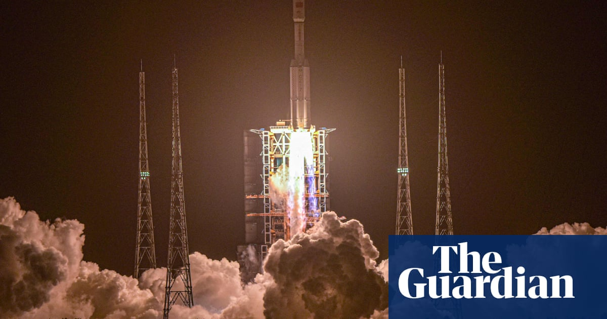 Chinese cargo craft docks with future space station in orbit