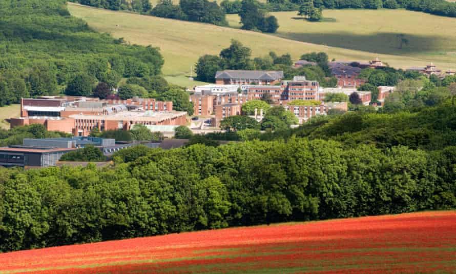 University of Sussex campus, Falmer, UK.
