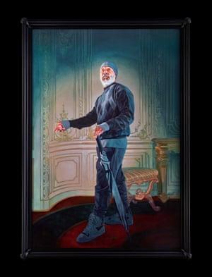 Portrait of Nick Cave, Nadezhda Polovtseva, 2017